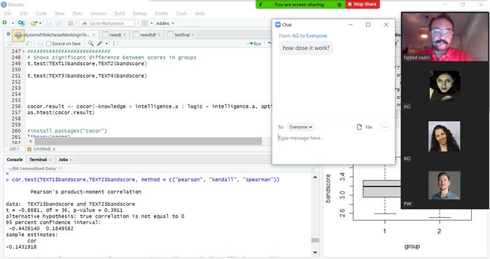 Computer program - Screenshot